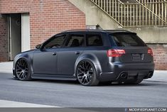 Matte Black RS4... My dream car! Groceries? Sure! Pick the kids up? Yep! Do it all baby and still kick butt while looking good!