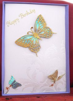 Butterfly cards go well for some reason