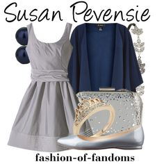 Susan Pevensie, created by fofandoms on Polyvore