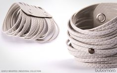 Gently wrapped bracelet Industrial Collection Bubamara