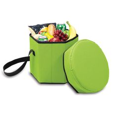 Bongo Cooler      The Bongo Cooler is a convenient 12-quart collapsible cooler that is strong enough to use as a seat. Great for the park - the beach - concerts - or road trips. The Bongo Cooler has a removable interior liner for added versatility. Take it wherever your busy life leads you!  $27.95