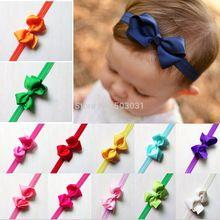Bebê meninas Headbands da criança do bebê Bowknot Headwear crianças acessórios de cabelo 2015 moda venda quente extensão W065(China (Mainland))