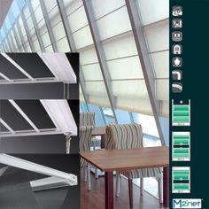 ΣΥΣΤΗΜΑ ΓΙΑ ΚΟΥΡΤΙΝΕΣ ΟΡΟΦΗΣ (SKYLIGHT) Stairs, Home Decor, Stairway, Decoration Home, Staircases, Room Decor, Stairways, Interior Design, Home Interiors