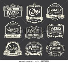 Stock Images similar to ID 100671124 - vector set calligraphic design ...