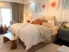Headboard Ideas From Our Favorite Designers : Rooms : HGTV