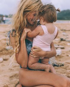 Love spending a day at the beach with the little one.