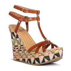 Cancun , JustFab ($40) ❤ liked on Polyvore