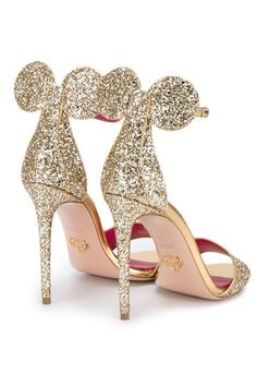 These Minnie-Mouse heels are too cute