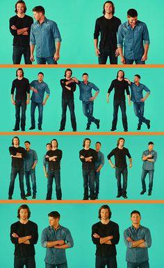 Jared and Jensen :: These big goofballs make me smile