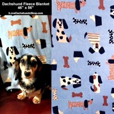 doxie blankets