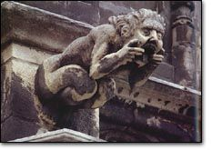 great architecture of the world with gargoyles | with tongue out, Town Hall (Hôtel de Ville), Brussels.Some gargoyles ...