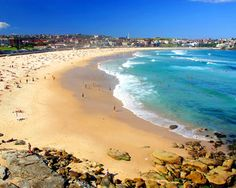 Bondi Beach is a great place to go in Australia. I like to go there to hang out with friends or have a relaxing day.