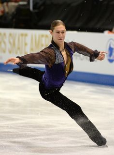 Jason Brown @ Skate America 2013... I think he shall do well this year. :) #sochi2014
