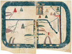 The Girona Beatus: Mapamundi (10th c.)