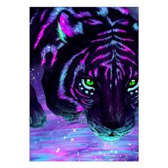 beautiful animal art Eyes is part of These Animals Have The Most Beautiful And Unusual Eyes On - This Tiger Art looks Awesome! Tier Wallpaper, Animal Wallpaper, Cute Animal Drawings, Cute Drawings, Fantasy Kunst, Fantasy Art, Fantasy Creatures, Mythical Creatures, Anime Animals