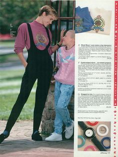 Stirrup pants in their full early 90s glory. #vintage #1990s #nostalgia #fashion