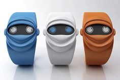 Ninja Watch Tells The Time With Its Two Eyes    Cute accessory that rethinks the traditional hour and minute hands.