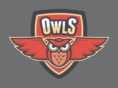The Owls Mascot Final by Tyler Ackelbein
