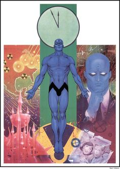 Dr. Manhattan by Dave Gibbons