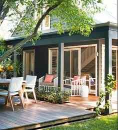 The Room Love the indoor/outdoor design.