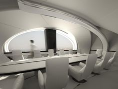 COCOON MEETING ROOM by Irena Seirski | СOCOON APARTMENTS | Futuristic Architecture | Location: Kharkov, Ukraine