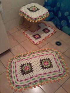 Conjunto para banheiro.