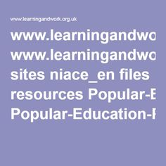 www.learningandwork.org.uk sites niace_en files resources Popular-Education-Power-Democracy-WEB.pdf