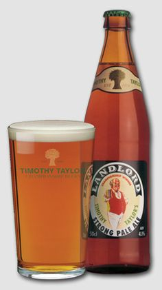 Timothy Taylor Landlord - probably the most handsome bottled beer in Britain