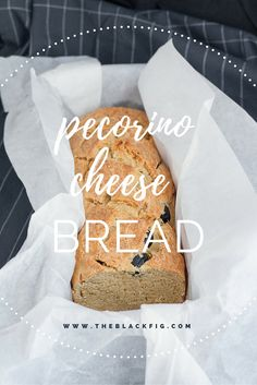 Pecorino cheese, olives and fresh rosemary are the ingredients for this tasteful bread. Pin it!