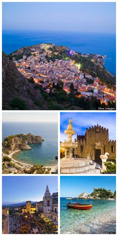 Taormina, Italy is a storybook Sicilian town