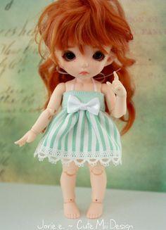 Spring Mint Dress for PukiFee