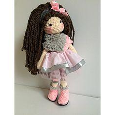 One sweet, pink doll enjoying her Saturday