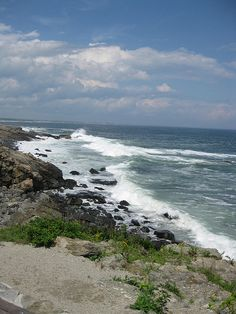 Along the Marginal Way, Ogunquit, Maine Ogunquit is one of the 10 most spectacular coastlines in the US.