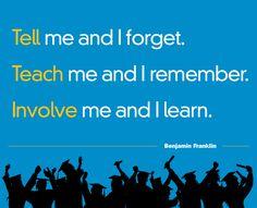 Involve me and I'll #learn #mediabistroEDU go: http://mbist.ro/13zIMrG