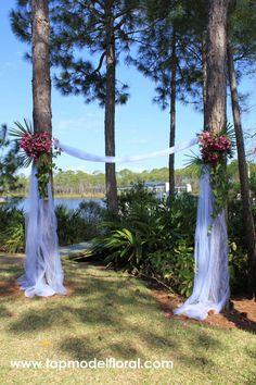 wedding arches roses | Azalea Wedding Arch | Unique Floral Arrangements By Rose Fisher