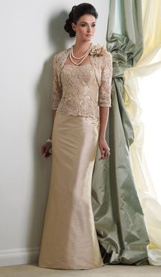 petite mother of bride | Montage Boutique 113944 Beaded Mother of the Bride Jacket Dress image