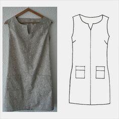 L-Estivale-MLM-Patrons - huntley. Sewing Clothes, Diy Clothes, Clothing Patterns, Dress Patterns, Diy Fashion, Womens Fashion, Fashion Design, Diy Vetement, Creation Couture