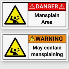 Warning/Danger Mansplaining Stickers grandpa gifts for fathers day, fathers day gift wrapping, grandmother diy gifts Kids Fathers Day Gifts, Easy Fathers Day Craft, Mother Birthday Gifts, Fathers Day Shirts, Grandpa Gifts, Happy Fathers Day, Diy Father's Day Gifts, Father's Day Diy, Decorated Water Bottles