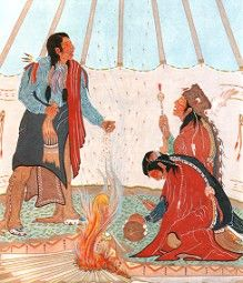 native americans and peyote use Some students believe that the tarahumara indians, living where peyote  abounded, were the first to discover its use and that it spread from them to the  cora, the.