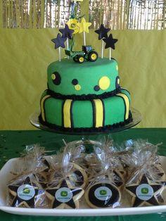 Cake at a John Deere Party #johndeere #partycake