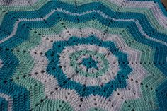 I love making round ripples for babies. I'm hoping many of you great crocheters will make a few baby blankets for some worthy charities and send me pictures of your completed items.
