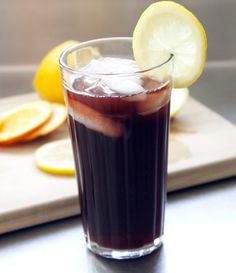 Easy Homemade Iced Tea Recipes | Cherry Citrus Iced Tea by Homemade Recipes at http://homemaderecipes.com/world-cuisine/american/19-homemade-iced-tea-recipes