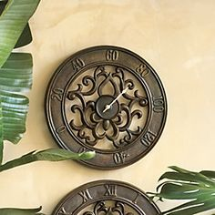 Fleur De Lis Indoor/Outdoor Thermometer