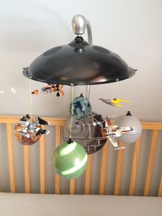 Star Wars Baby Mobile The Best Geek Themed Nurseries And Nursery Decorations