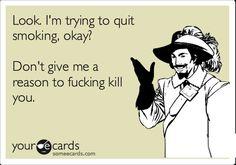 Quit smoking ecard