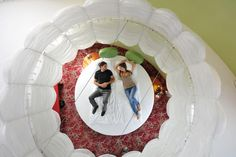 """Themenzimmer """"Rundes Bett"""" / Themed Room """"Round Bed"""" Round Beds, Entertainment, Das Hotel, Room Themes, Mirror, Home Decor, Culture, Decoration Home, Room Decor"""