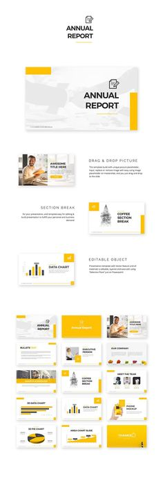 Annual report powerpoint template premium quality presentation design resources offered for free to the community Ppt Design, Design Brochure, Layout Design, Booklet Design, Powerpoint Slide Designs, Powerpoint Design Templates, Powerpoint Template Free, Ppt Free, Templates Free