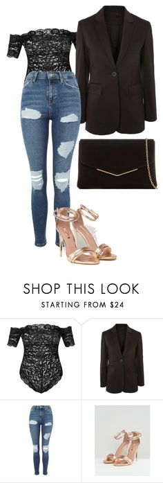 """Jam"" by kyaneeee on Polyvore featuring Topshop and KoKo Couture"