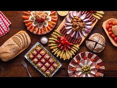 Idei de platouri traditionale - YouTube Croation Recipes, Appetizer Recipes, Appetizers, No Cook Desserts, Food Presentation, Waffles, Party, Food And Drink, Cooking