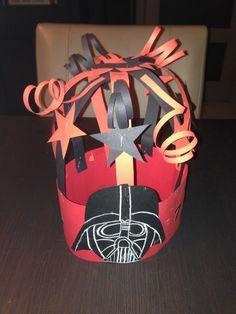 Verjaardagskroon Star Wars voor mijn zoontje gemaakt!
